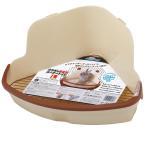 ミニアニマン ウサギの固定式コーナートイレ L うさぎ トイレ ドギーマン 関東当日便