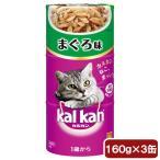 カルカンハンディ缶 1歳から まぐろ 160g×3P 猫フード 成猫用 関東当日便