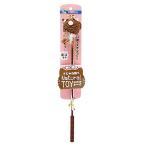 キャティーマン じゃれ猫 なちゅらるトーイ ネコさん(色おまかせ) 猫じゃらし 猫 猫用おもちゃ 関東当日便