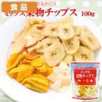 食品 ミックス果物チップス 100g 関東当日便