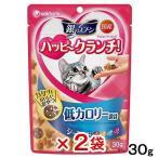 お買得セット 銀のスプーン ハッピークランチ 低カロリー シーフード 30g 猫 おやつ 2袋入 関東当日便