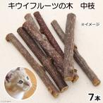 国産 キウイフルーツの木 中枝 7本入 猫用おもちゃ 無添加 無着色 関東当日便