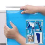 ショッピングバック バックスクリーン ARTI(アルティ)120 スカイブルー(クリアタイプ)(125×50cm)+スターターキット2 関東当日便
