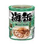 アイシア 海缶ミニ3P 削りぶし入りかつお 60g×3缶パック キャットフード