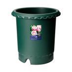 お買得セット リッチェル バラ鉢 ダークグリーン 12号 φ36×36cm お買い得5個入 関東当日便
