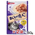 日清 まぐろの達人 牛肉入り うまみスープ 50g パウチ 2袋入り 関東当日便