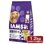 アイムス 7歳以上用 健康サポート チキン 小粒 1.2kg ドッグフード 正規品 IAMS 関東当日便