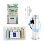 □CO2フルセット 流量設定済(添加量強化型)水草職人 30cm水槽用 沖縄別途送料
