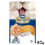 コンボ プレゼント キャット レトルト 鶏ささみとビーフ入り チーズ添え 40g キャットフード 関東当日便