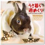 アウトレット品 うさ暮ら 週めくりカレンダー 2017年 卓上型 訳あり 関東当日便