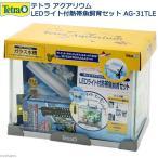 お一人様2点限り テトラ LEDライト付熱帯魚飼育 AG−31TLE 関東当日便