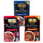 アソート アイシア 黒缶パウチ 70g 3種36袋