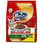 銀のスプーン 食事の吐き戻し軽減フード お魚・お肉・野菜入り1.3kg(小分けパック4袋入)
