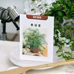 (観葉)ハーブの種 ルー 0.5mL(1袋)(種まき3月�10月) 家庭菜園