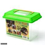飼育容器 小 緑 225 150 165mm プラケース 虫かご 昆虫 カブトムシ クワガタ