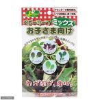 ベビーリーフ ミックス お子さま向け 品番:733 カネコ種苗 家庭菜園 関東当日便