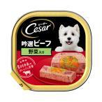 シーザー 吟撰ビーフ 野菜入り 100g ドッグフード シーザー 関東当日便