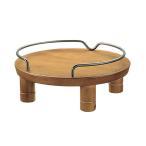 リッチェル ペット用 木製テーブル シングル ブラ
