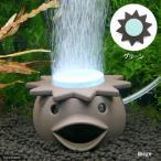いぶきエアストーン ファンシーエアストーン河童 グリーン エアーストーン 水槽用オブジェ アクアリウム用品