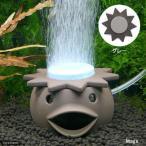 いぶきエアストーン ファンシーエアストーン河童 グレー エアーストーン 水槽用オブジェ アクアリウム用品