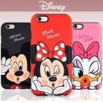 iPhoneX iPhone8 iPhone7 iPhone X 8 7 PLUS iPhone6S iPhone6 ディズニー KISS ダブル バンパー ケース キャラクター カバー スマホケース