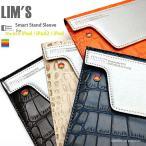 LIM'S 正規品 iPad Air2 iPad Air NEW iPad iPad2対応 スマート スタンド レザー ケース