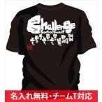 チームtシャツ 野球 や 部活tシャツ 野球 の チーム応援tシャツ や 少年野球tシャツ の 練習着 に 野球部tシャツ Challenge 挑戦