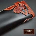 財布 メンズ 長財布 ウォレット フラットヘッド FLATHEAD コードバン ロングウォレット 手縫い オール貼り合わせモデル FSC-85 ブラック/ブラウン