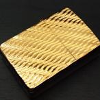 ZIPPO アーマー ≪ZIPPO ARMOR アーマー Diagonal Wave(C)GP ダイアゴナルウェーブ(C)純金(K24)ゴールドプレート≫/ジッポ/ジッポー
