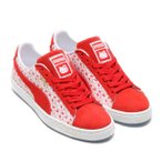 PUMA SUEDE CLASSIC X HELLO KITTY (BRIGHT RED-BR) 18SP-I