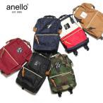 anello - ANELLO ポリキャンバス 口金入り ミニ リュック (6色展開)