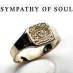 シンパシーオブソウル リング SYMPATHY OF SOUL Small Signature Ring K10Yellow Gold スモール シグネーチャー リング K10イエローゴールド