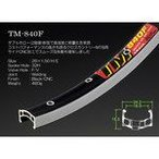 アラヤ 【TM-840F26F32B】TM-840F 26x1.50 リム CNC/ブラック 32H FV [71110001]