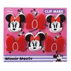 ミニーマウス(クリップ)クリップマークディズニー(お取り寄せ品)(ゆうパケット可)