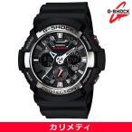 ショッピングShock カシオ CASIO Gショック G-SHOCK メンズ 腕時計 BIG CASE ビッグケースメタルパーツ GA-200-1A 送料無料 海外モデル (宅急便)