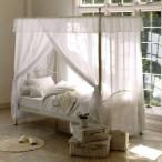 天蓋付きベッド ベッド ベット シングルベッド シングルベット プリンセス家具 お姫様ベッド シンプル おしゃれ ベッドフレーム 寝具 リラックス 人気
