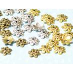 C&T ビーズキャップ座金フラワーキャップ約9mmBE【30個入】アクセサリーパーツ花座ビーズ細工ハンドメイド材料キャップパーツ