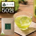 濃厚ティーバッグ緑茶「こいうま深蒸し茶 ポット用50包」 (お茶 いなば園 水だし 緑茶 ティーバッグ パック )
