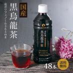ショッピングペットボトル 国産 黒烏龍茶 ペットボトル 2ケース 送料無料 500ml×48本(高ポリフェノール ウーロン茶)