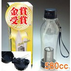 (魔法瓶)茶こし携帯エコボトルストロー付き580cc(水筒)/茶器