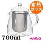 (耐熱ガラス)リーフティーポット・ピュア700ml CHEN-70T ハリオ 茶器
