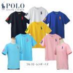 ラルフローレン 半袖 Tシャツ ビッグポニー 刺繍 ポロ POLO Ralph Lauren Boy's 2018 春  メンズ レディース ボーイズ #323690087