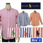 POLO by Ralph Lauren Boy'sラルフローレン長袖ストライプシャツ[2015-Spring/NewModel][ラルフローレン ボーイズ]