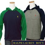 POLO by Ralph Lauren Boy'sワッフル フード付 長袖 Tシャツ パーカー[2017-Spring/NewModel]ラルフローレン ボーイズ#323631549