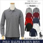 ポロ ラルフローレン  POLO Ralph Lauren Boys  長袖 鹿の子ポロシャツ   #323703634