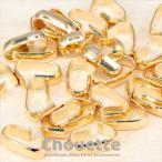 つなぎカン 連結用 ジョイント ゴールド スチール 15個 ハンドメイド 手芸材料 パーツ 素材 ピアス 大人 pt-851b