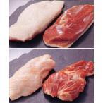 送料込み 鴨肉フレッシュハーフセット  ロースフレッシュ500g、ももフレッシュ500g【冷蔵】 ブロック 鴨肉 母の日/父の日/敬老の日/ギフト