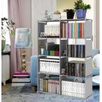 予約販売 本棚 大容量 整理棚 ワイヤー収納ラック 組み立て式 衣類収納ボックス