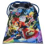 スーパーマリオ マリオカート8 巾着袋 Mサイズ 巾着M上靴入れ 体操服入れMBS-488 K3122 k3122