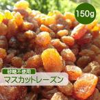 ドライフルーツ レーズン 150g マスカットレーズン 砂糖不使用 無添加 ぶどう ブドウ 干しブドウ 無糖 小分け ギフト チャック付き